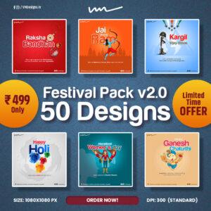 Festival Pack V2 Social Media Designs 2