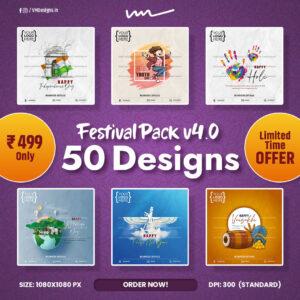 Festival Pack V4 Social Media Designs